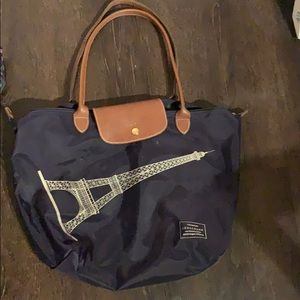 Long champ tote